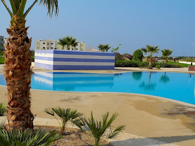 apartment with pool phapos cyprus